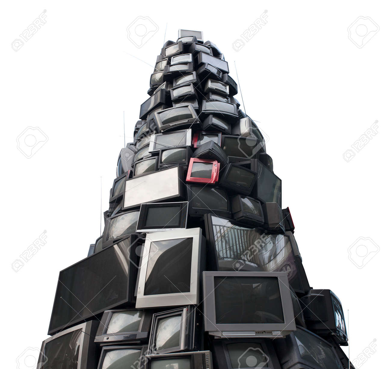 E waste background images - E Waste Old Tv Garbage Rubbish Electronic Junk Recycling Electronics Pile