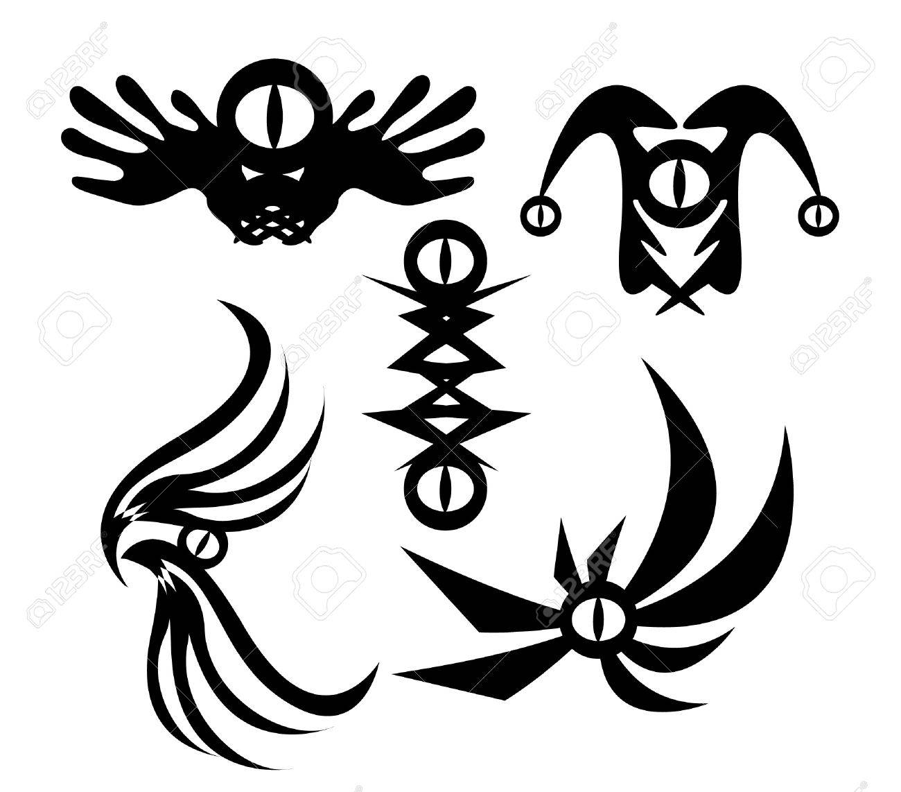 tatto design in devil Stock Vector - 19968053