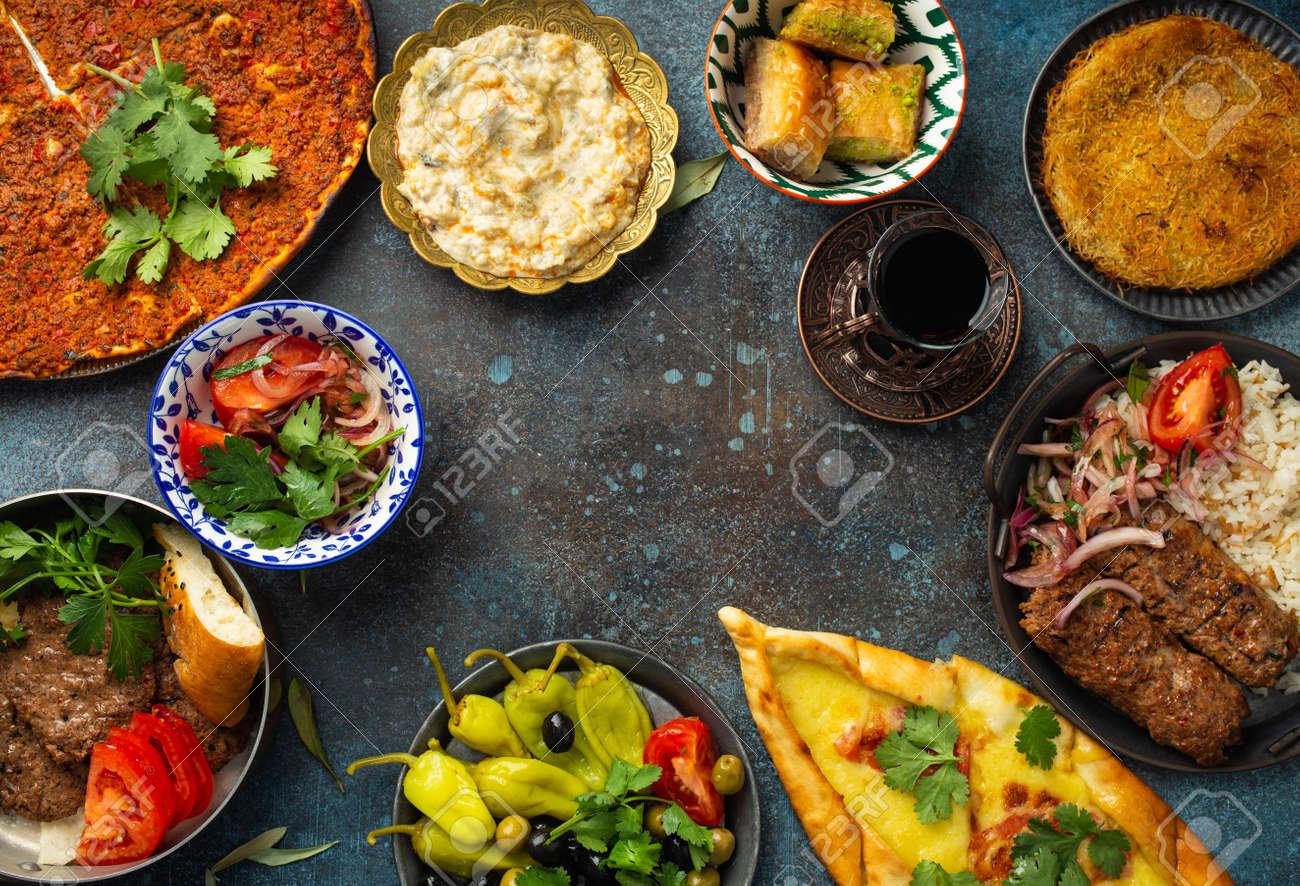 Turkish traditional food - 157217349