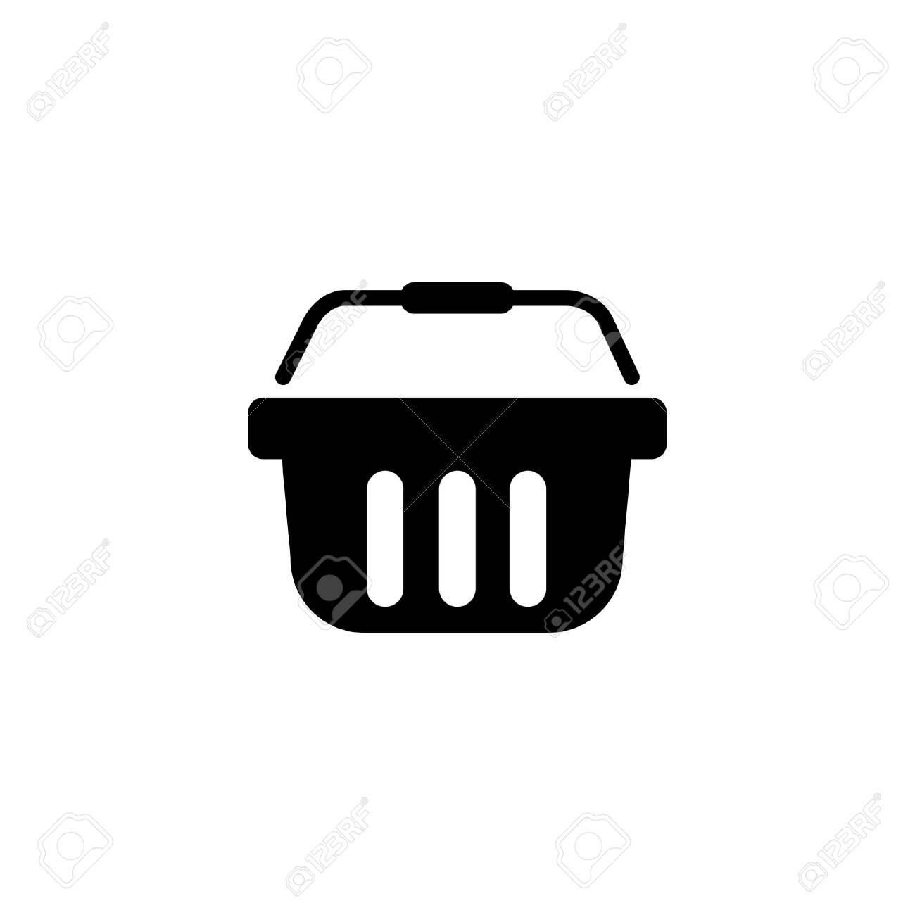 Shopping basket. Icon - 140545537