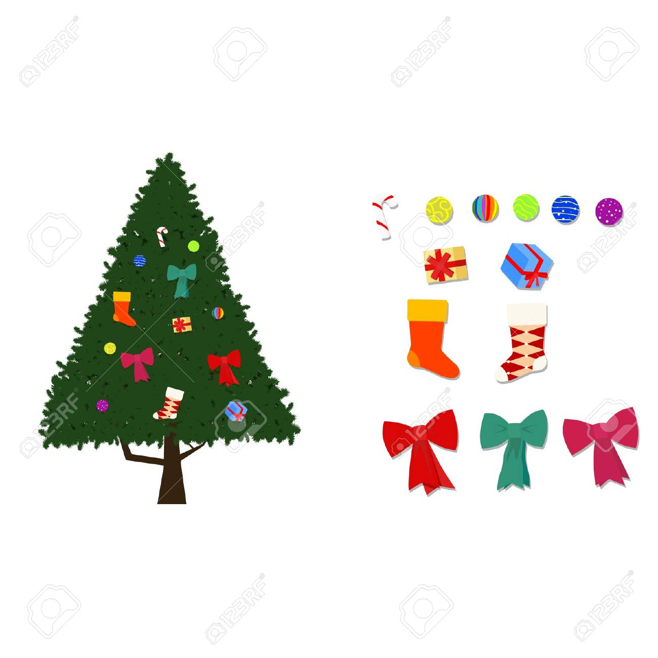 christmas tree Stock Vector - 17022970