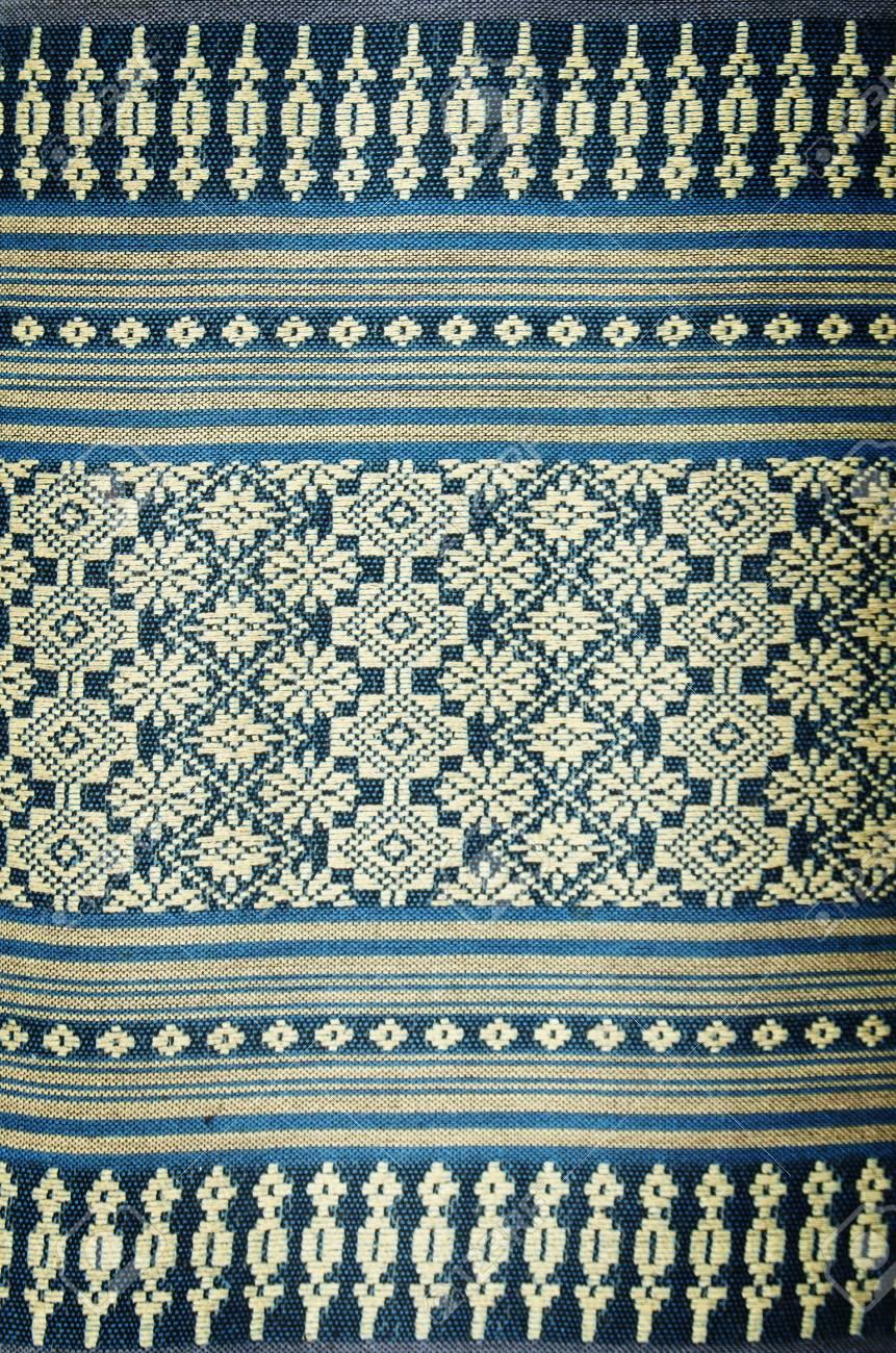 thai native hand made cotton texture background Stock Photo - 14105251