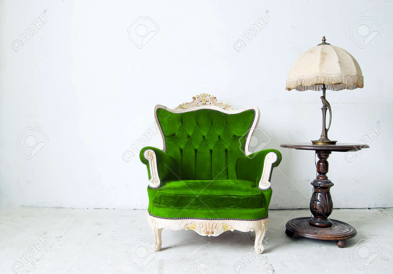 Luxurious armchair in white background Stock Photo - 15445285