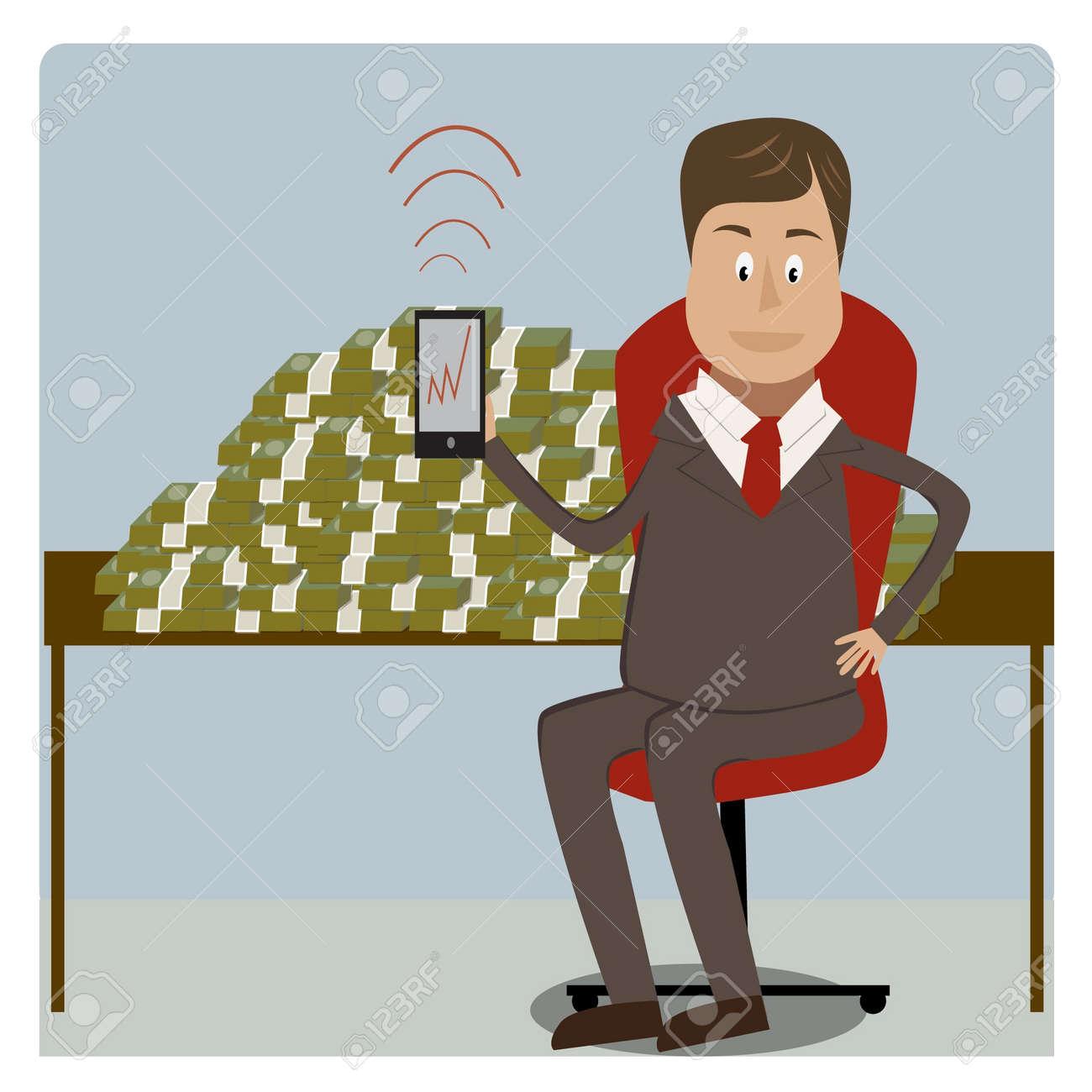 businessman Stock Vector - 17719862