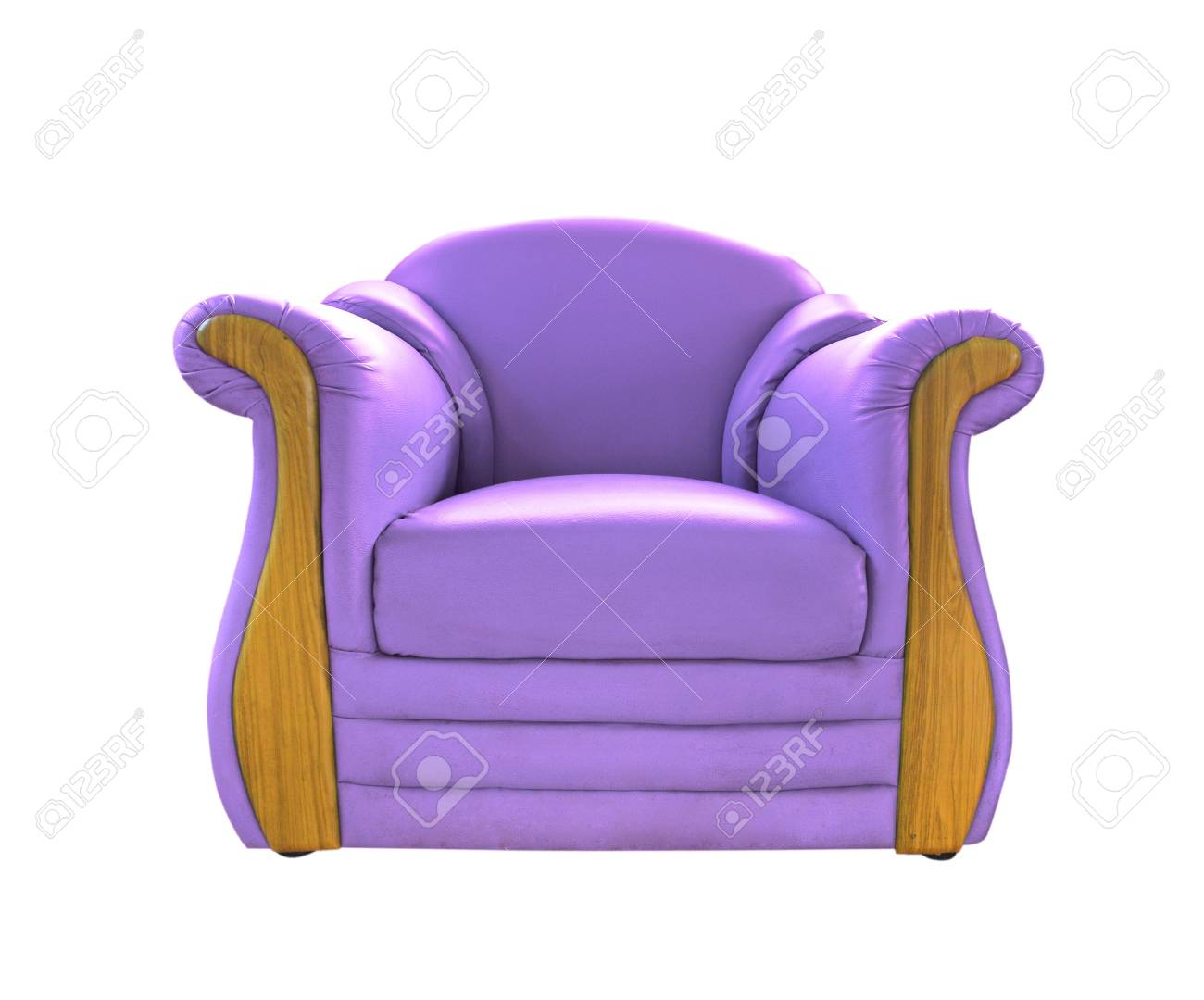 Prime Old Purple Leather Sofa Isolated On White Theyellowbook Wood Chair Design Ideas Theyellowbookinfo