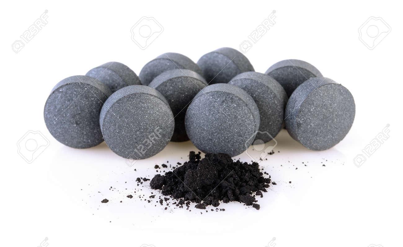 comprimé de charbon actif