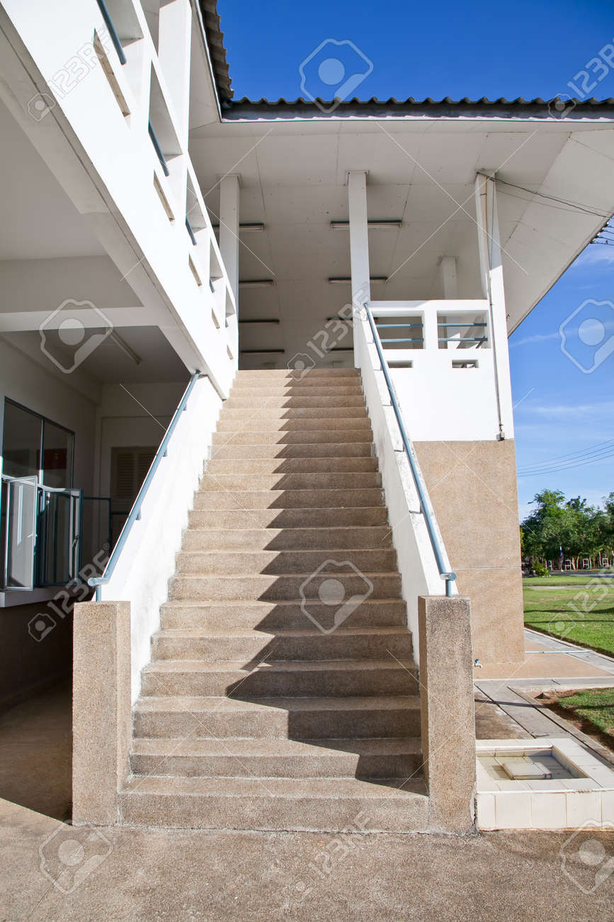 Stairs to the second floor Stock Photo - 20230016
