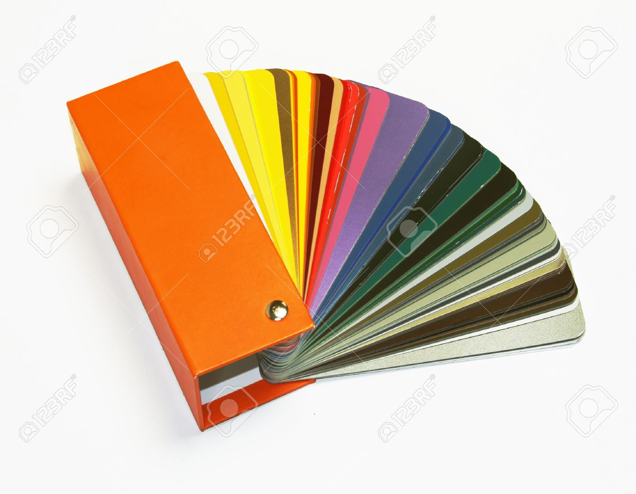 Open RAL Sample Colors Catalogue Stock Photo, Picture And Royalty ...