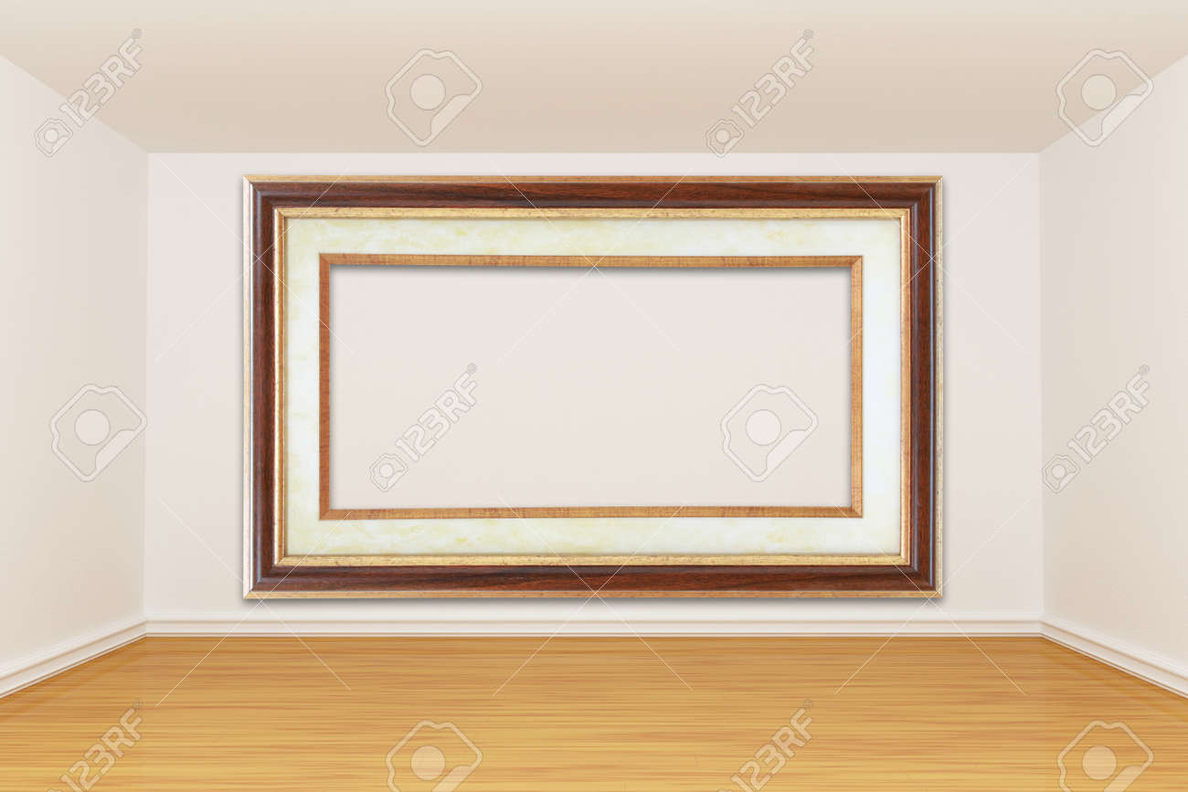 3d render empty room Stock Photo - 13172040