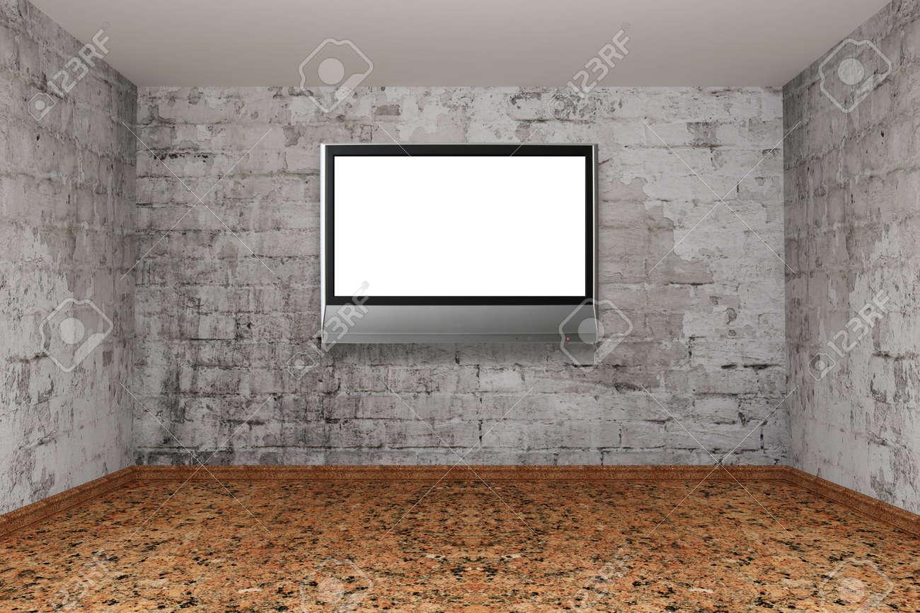Grunge empty room Stock Photo - 13317808