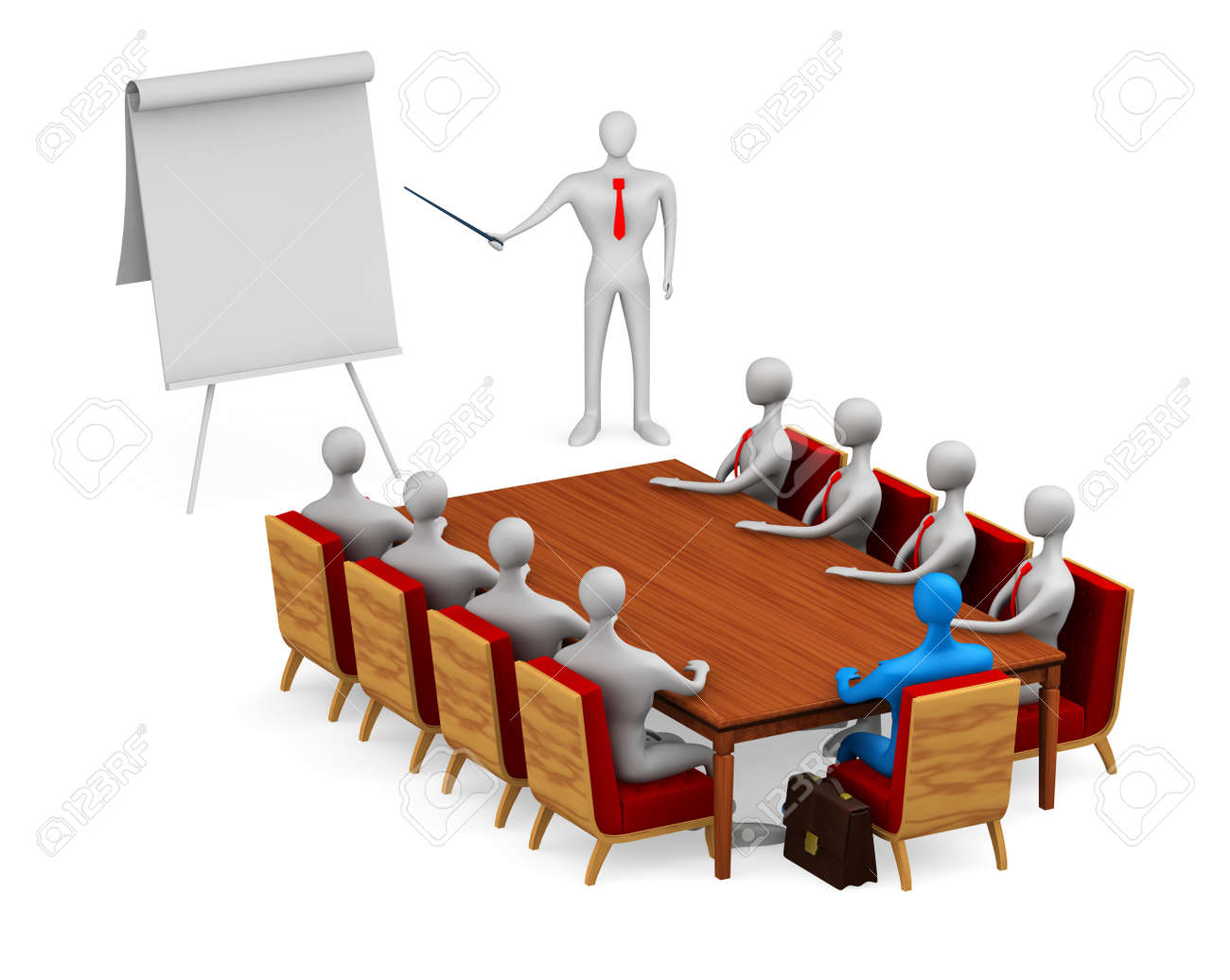 Group of persons on the meeting Stock Photo - 13708843