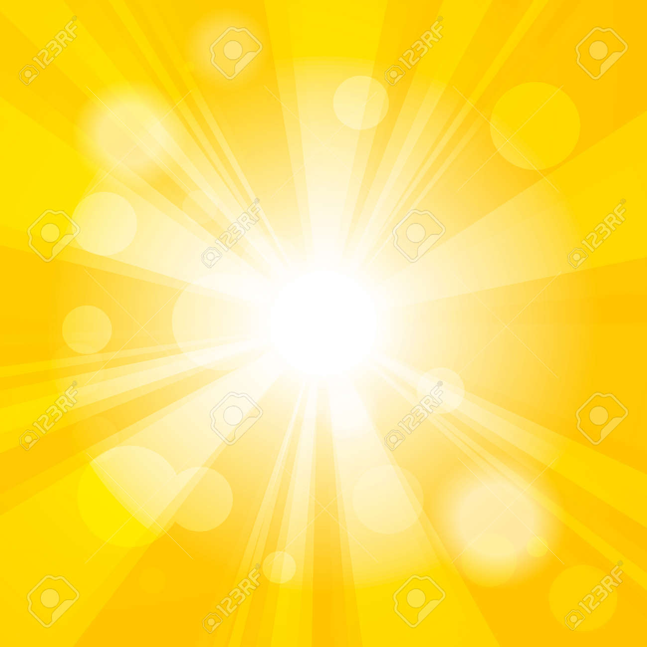 Bright Yellow Wallpaper bright yellow abstract festive bokeh sun effect background royalty