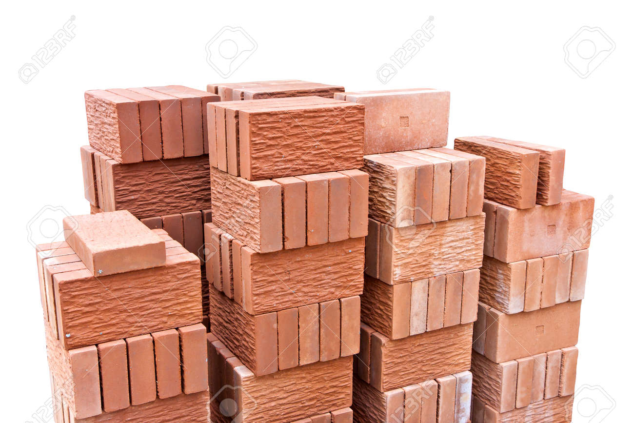 Decorative Red Clay Brick Stock Photo Picture And Royalty Free