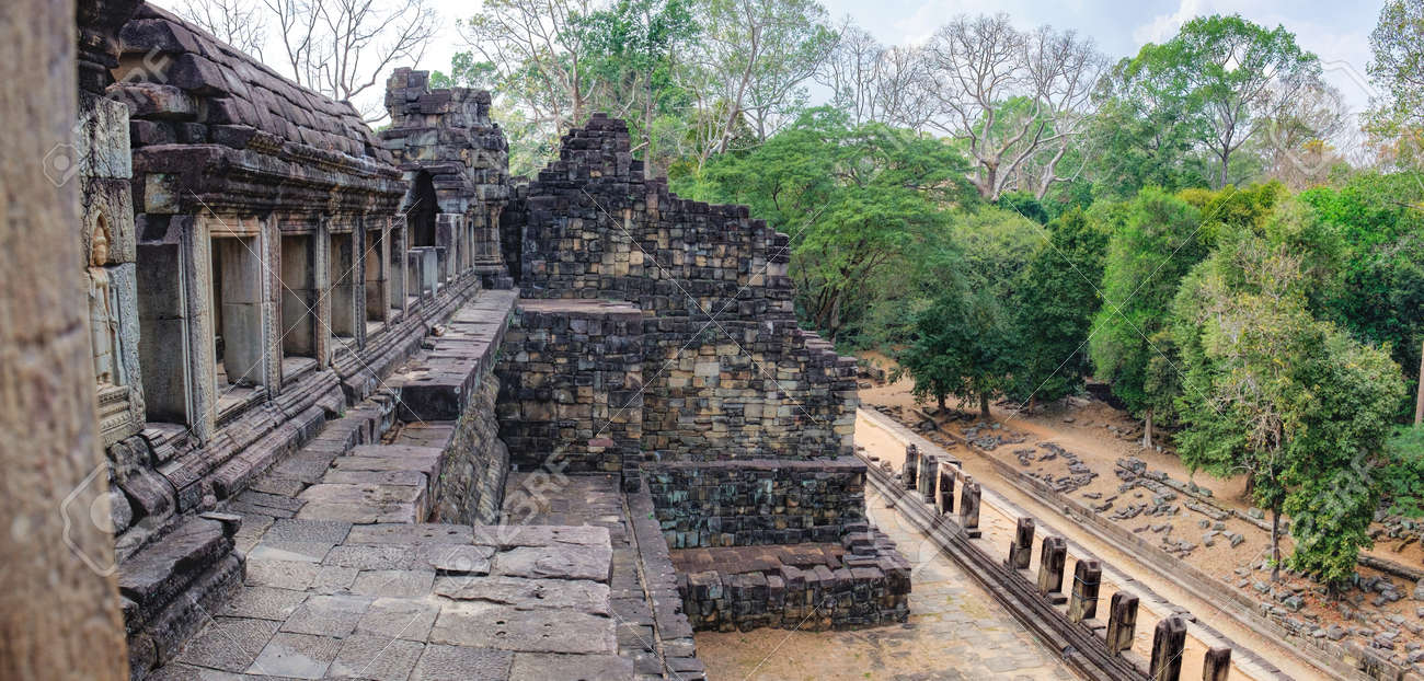 バプーオンもあります寺院、シェムリ アップ、カンボジアのアンコール ...