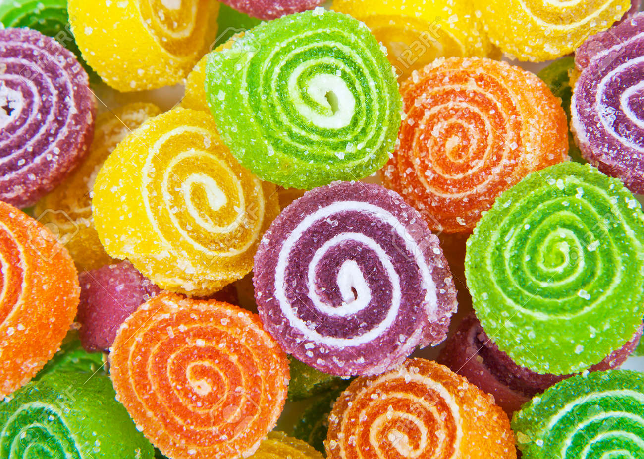 close up of colorful candy stock photo picture and royalty free
