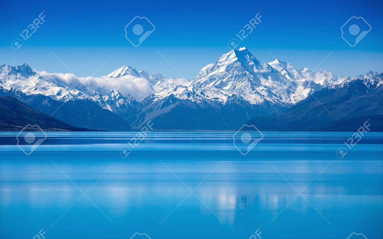 Lake Pukaki, South Island, New Zealand - 17925982