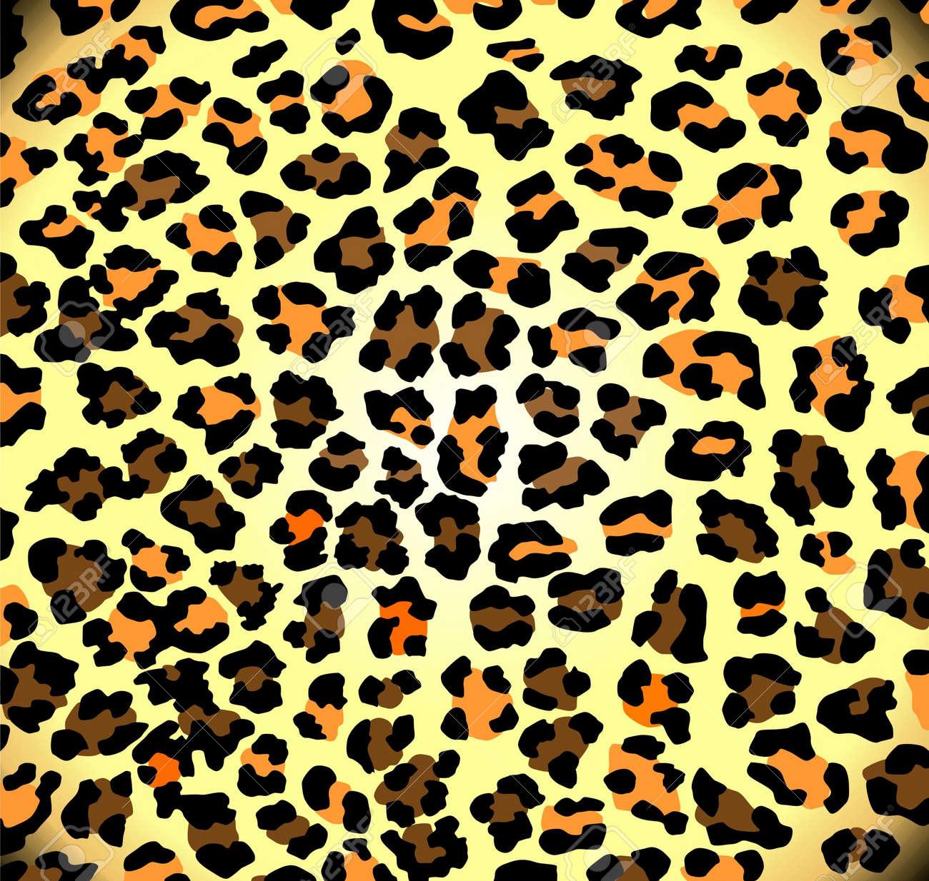 Seamless leopard pattern Stock Vector - 17297281