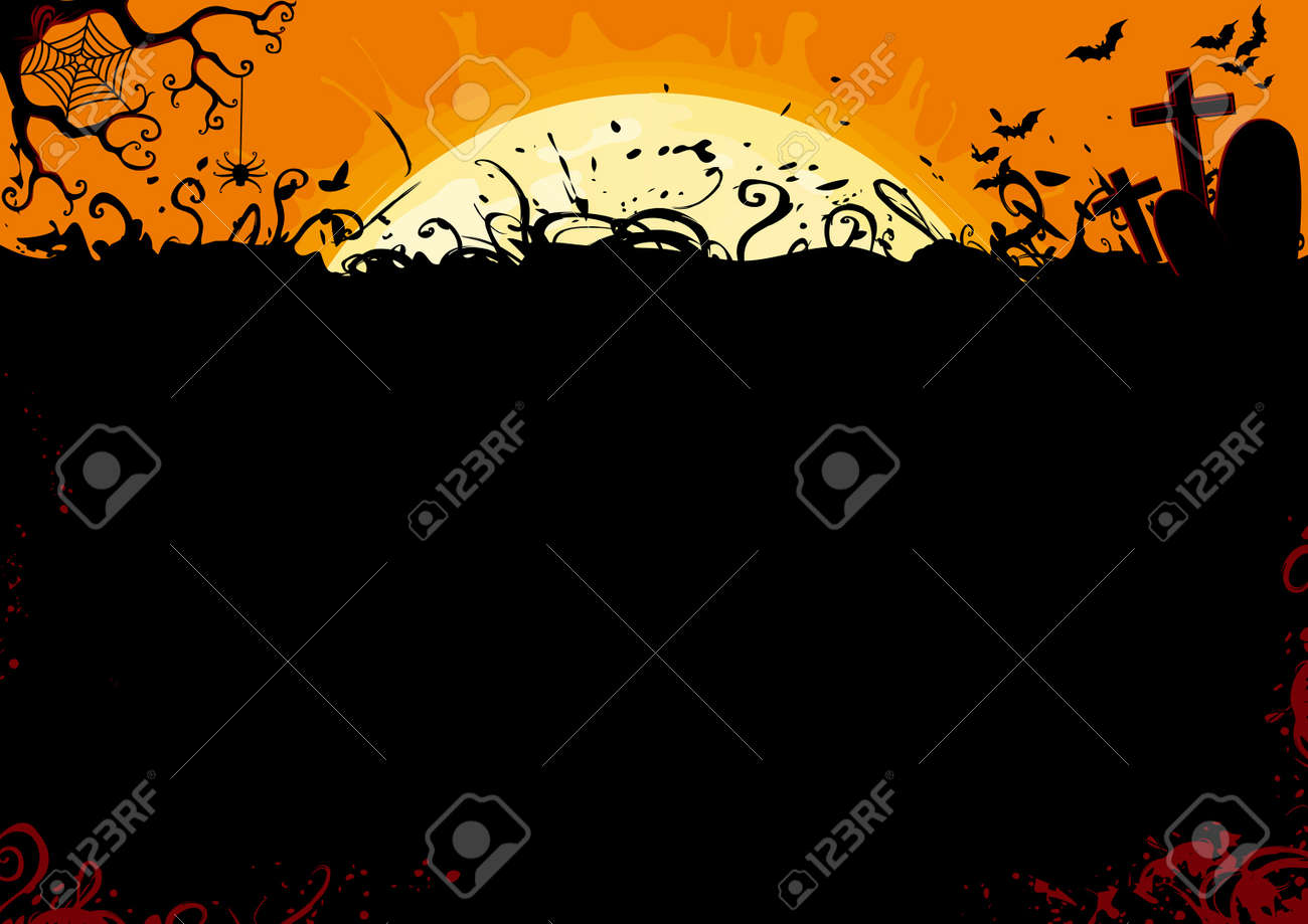 Halloween background Stock Vector - 15777693