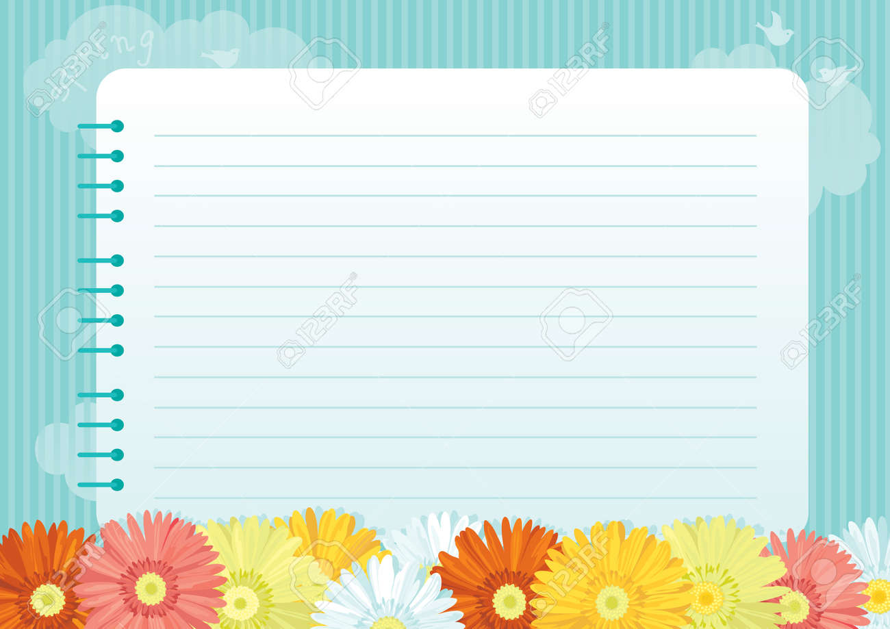 Notebook - Pages De Cahier Png , Free Transparent Clipart - ClipartKey