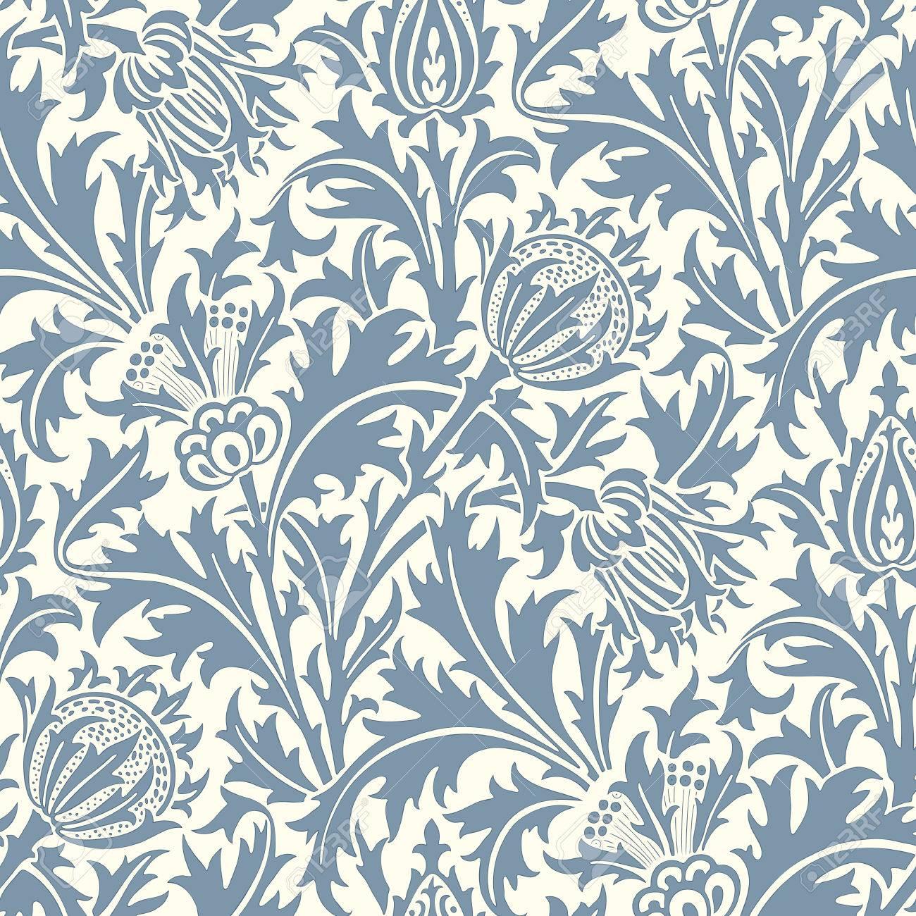 floral seamless pattern modern seamless pattern for interior rh 123rf com