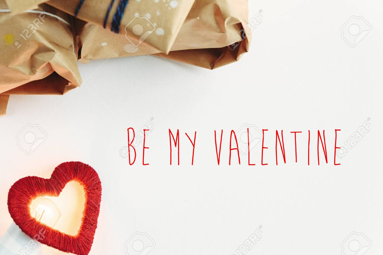 Stylish Craft Presents For Special Occasions Be My Valentines