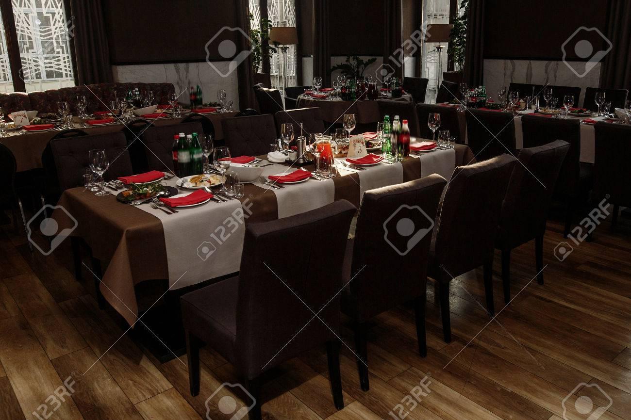 Luxus Catering Im Restaurant Hochzeitsfeier Besondere Anlasse In