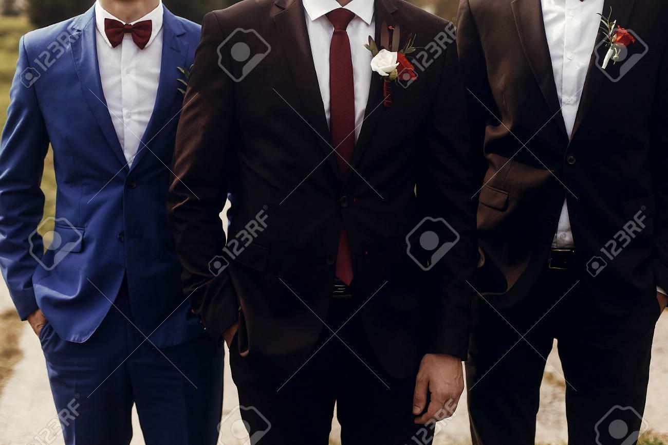Trajes boda novio y padrino