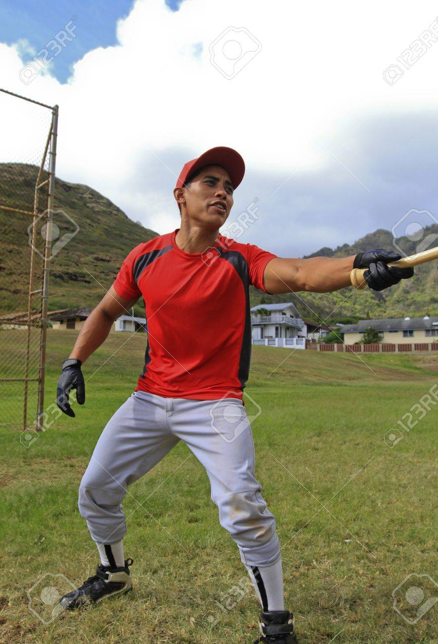 Baseball player gets sassy with the umpire Stock Photo - 11562263