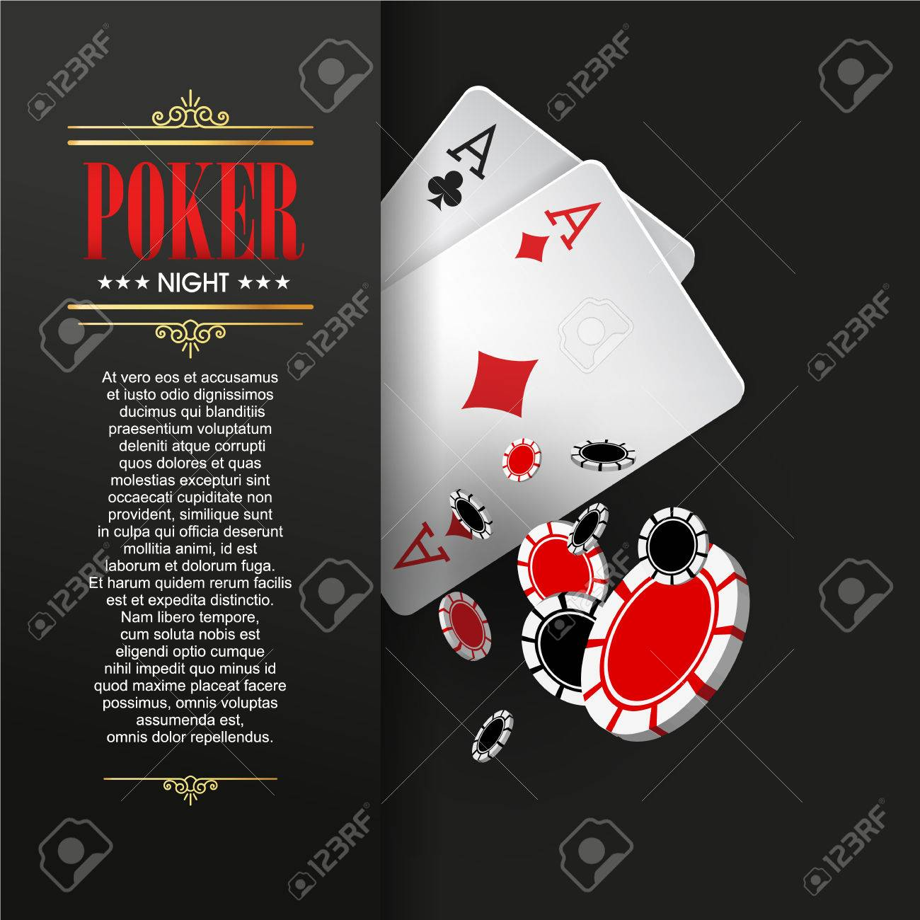 Poker Party Invitation Template Images - Party Invitations Ideas