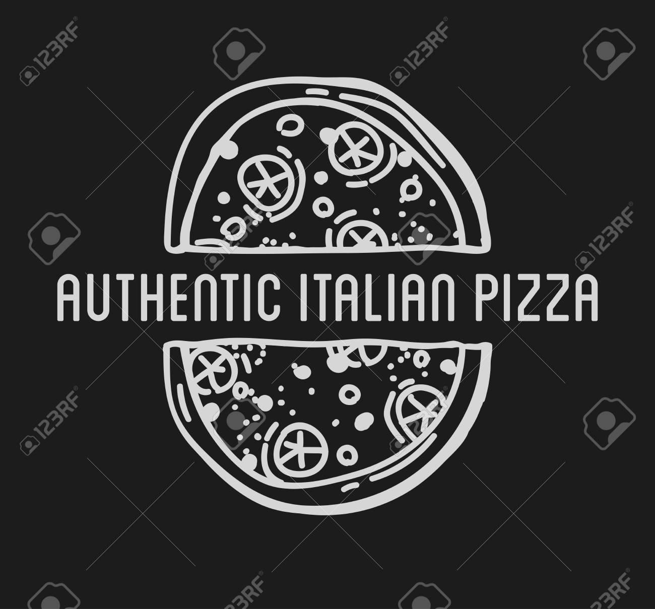 Pizza Label Design Typographic. Pizza Festival Or Pizza Fest ...