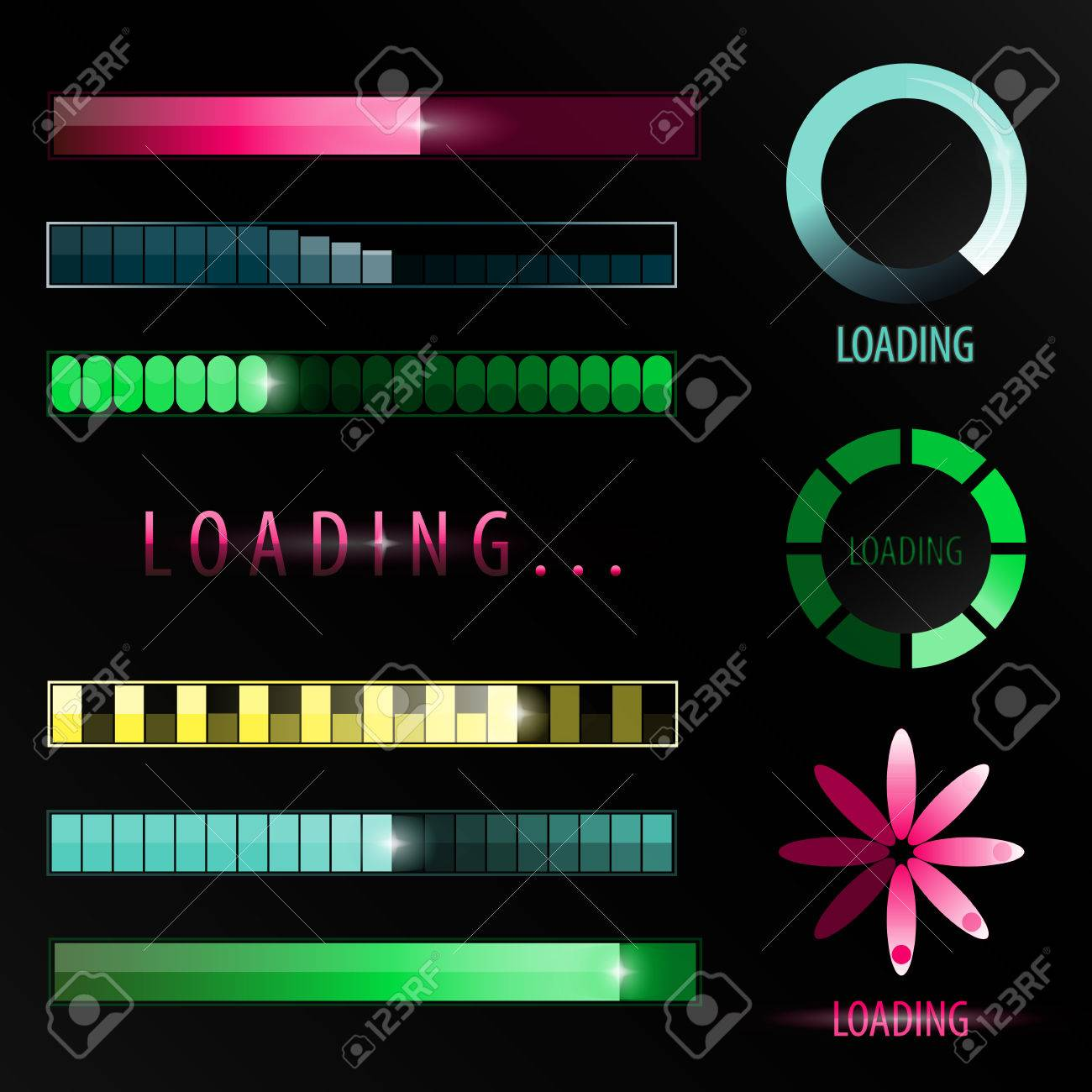 Indicators Of Download Web Design Template Symbol Upload Colorful Isolated Elements For Interface Website