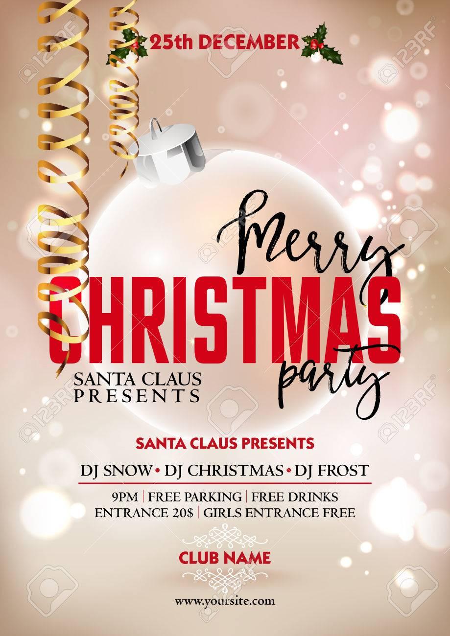 christmas event poster christmas event poster