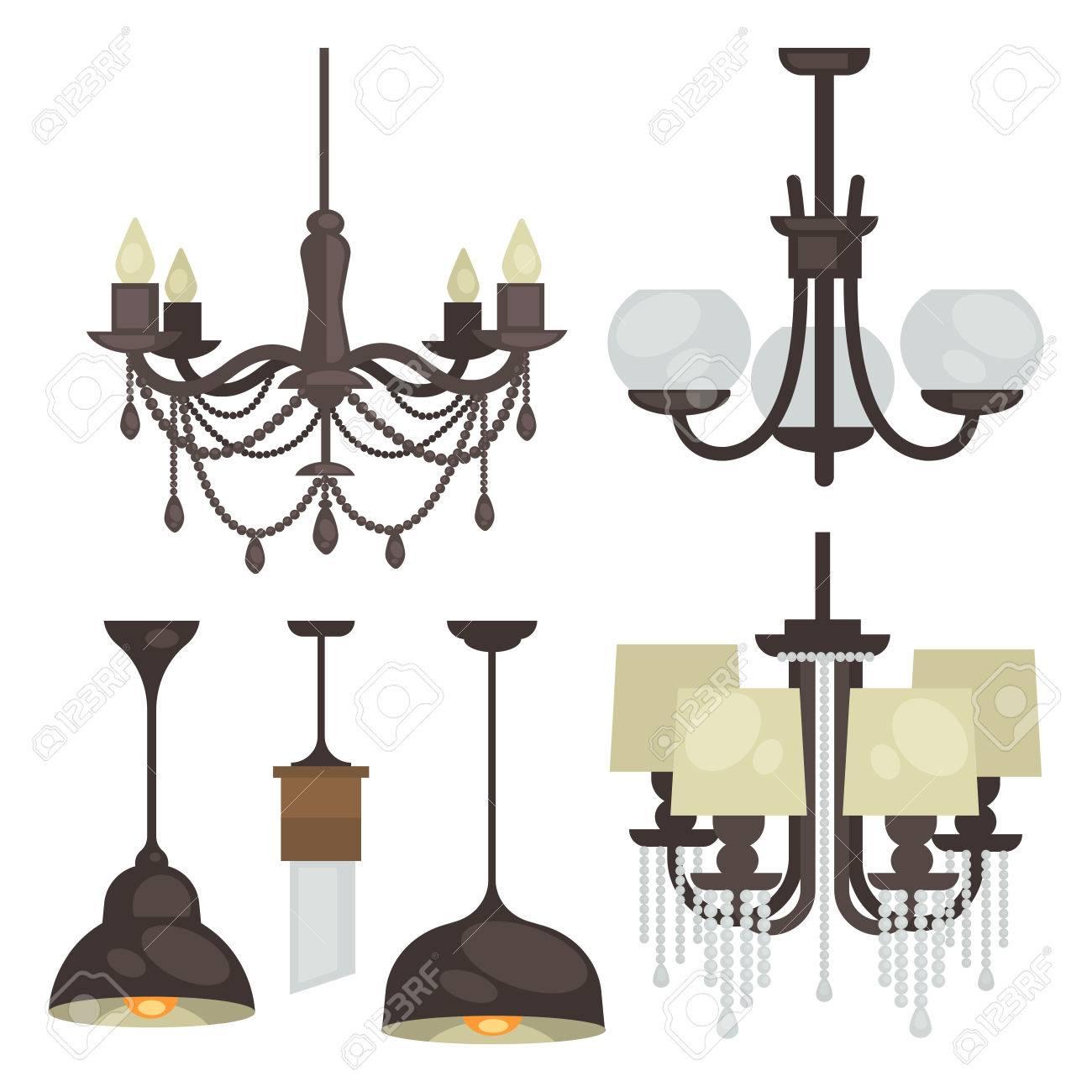 lamp set gesoleerd interieur licht design elektrische lampen kroonluchters lampen lichte interieur decoratie