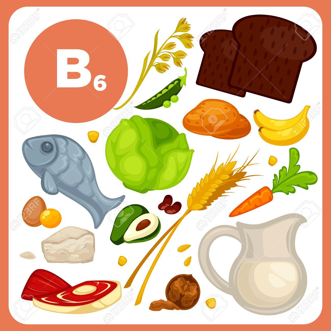 ビタミン B6 の食品。 ロイヤリ...