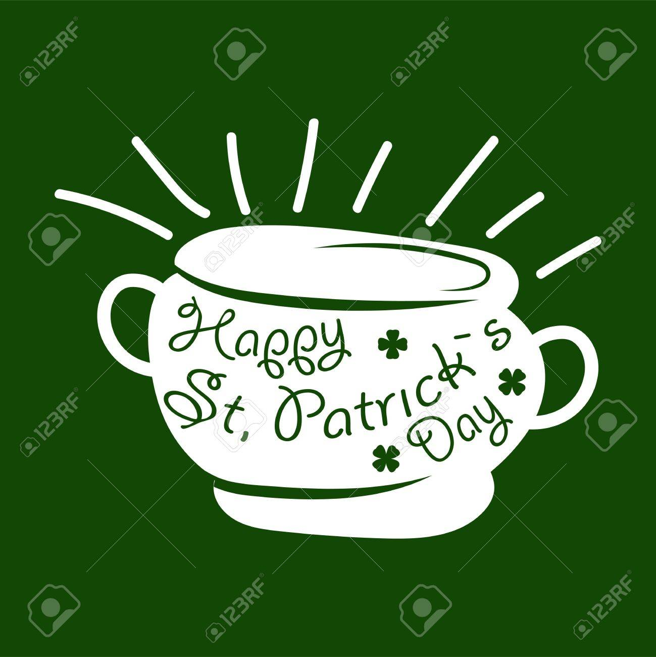 Saint patrick day symbol of leprechaun treasure pot and four leaf saint patrick day symbol of leprechaun treasure pot and four leaf clover leaf or lucky biocorpaavc