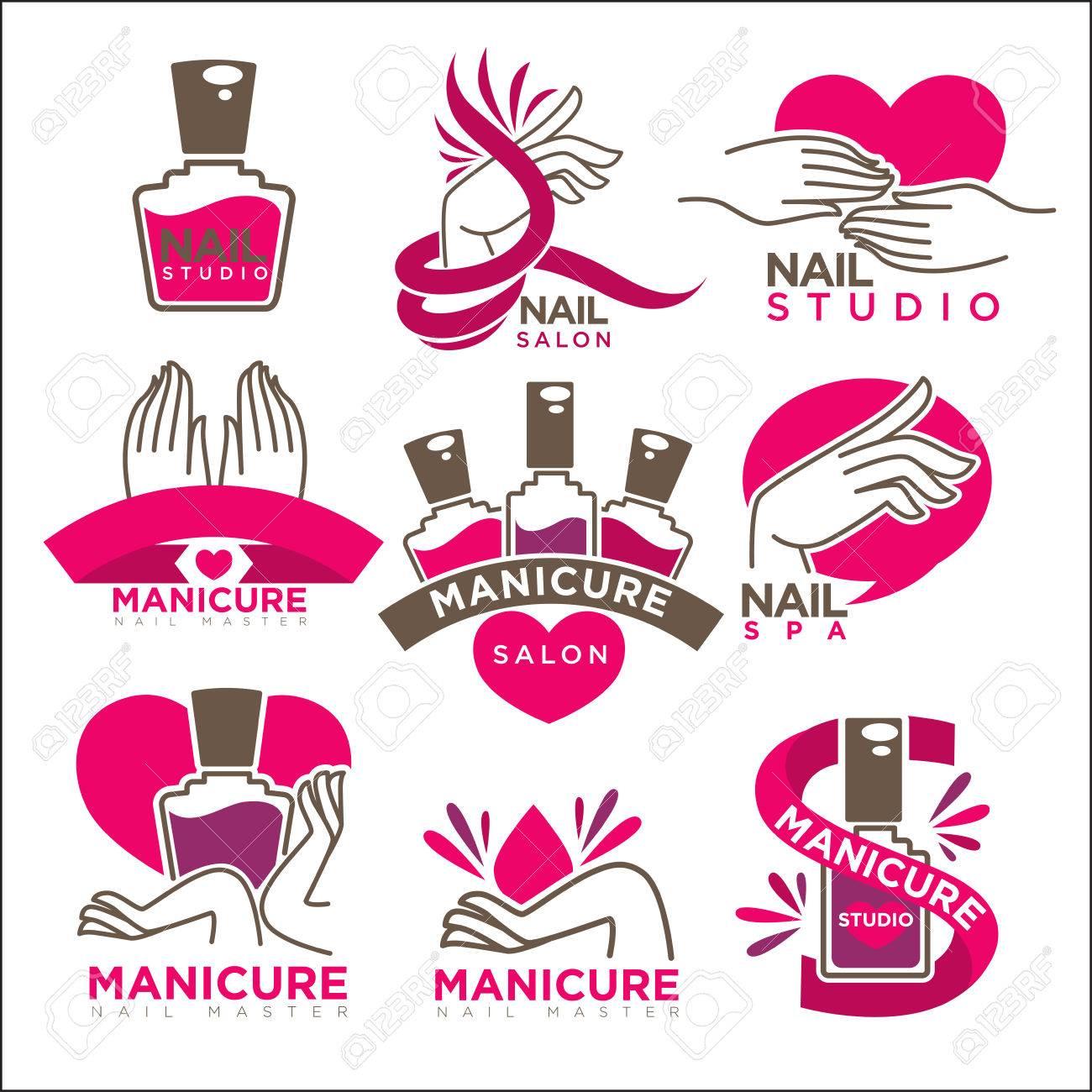 Fantastisch Nail Salon Geschenkgutschein Schablone Fotos ...