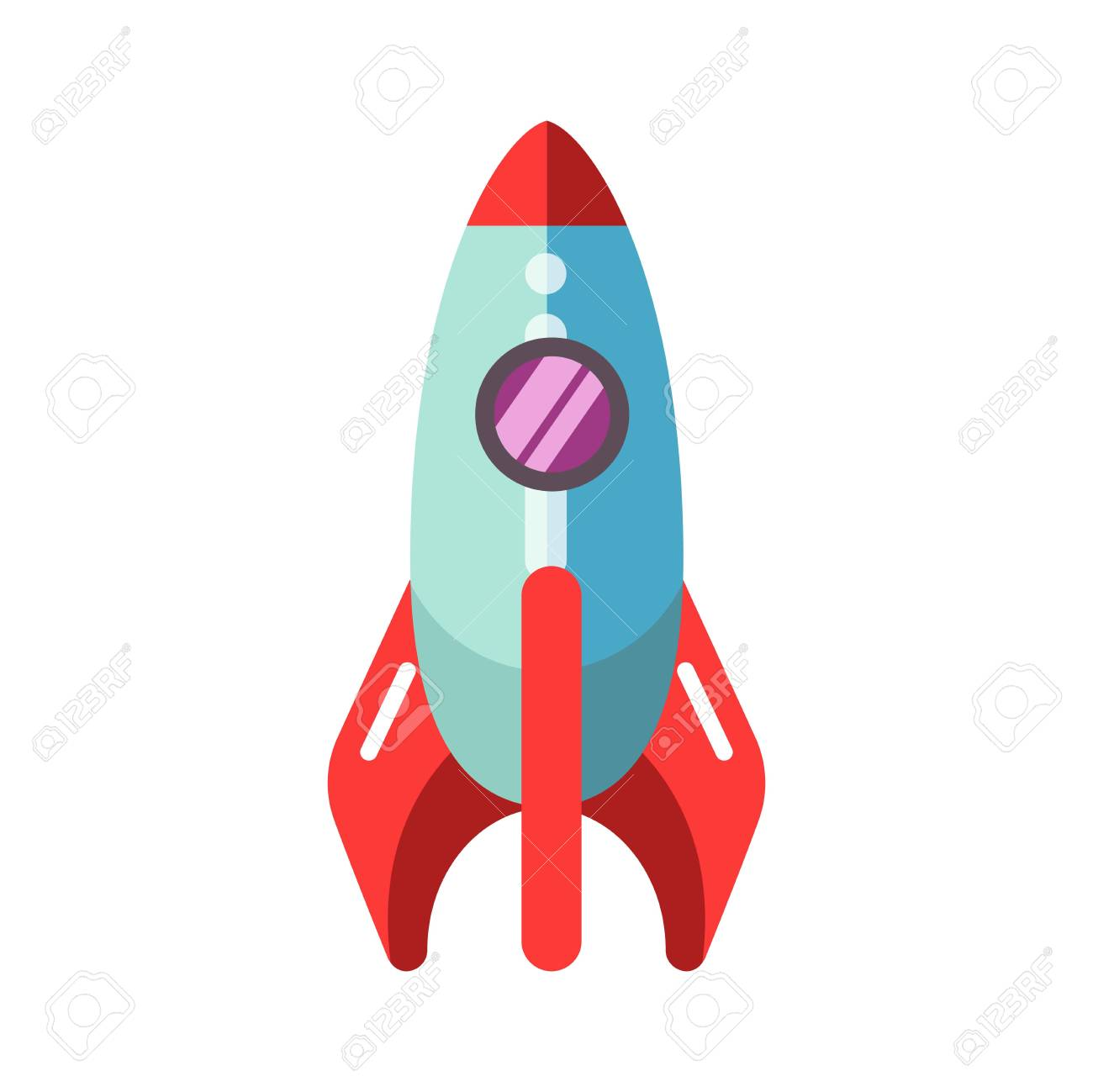 kid toy children plaything rocket spaceship vector icon royalty free rh 123rf com spaceship vector gif spaceship vector free download