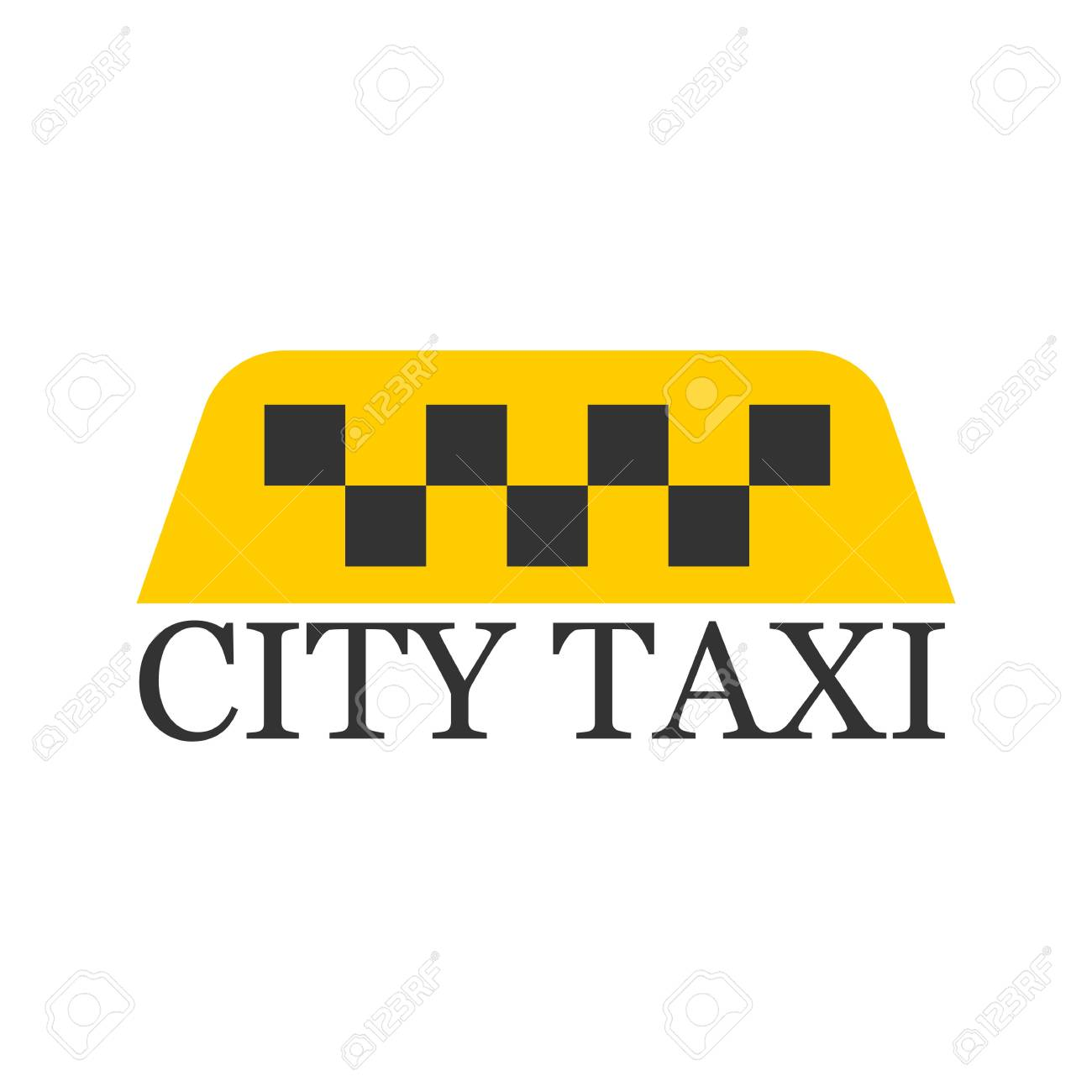 city taxi logotype with checker in yellow and black colors royalty free  cliparts, vectors, and stock illustration. image 76540165.  123rf