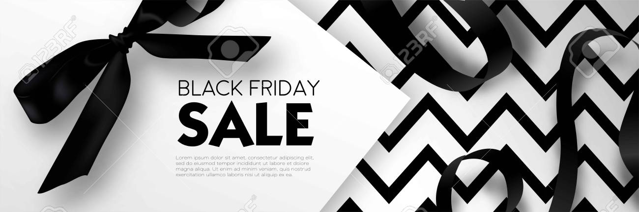 Black Friday Sale Discount Promo Offer Poster Or Advertising Royalty Free Cliparts Vectors And Stock Illustration Image 87470944