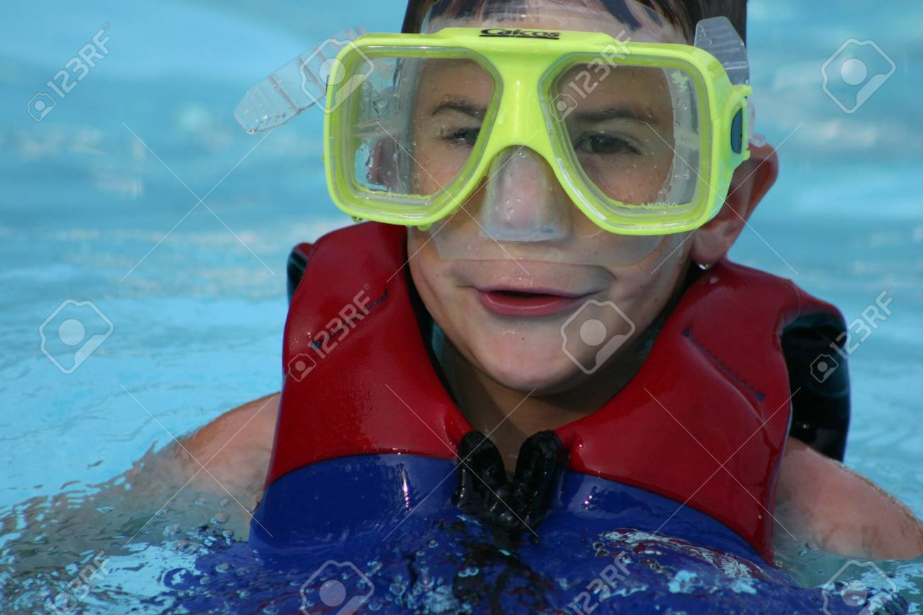 Boy with Goggles Stock Photo - 447308