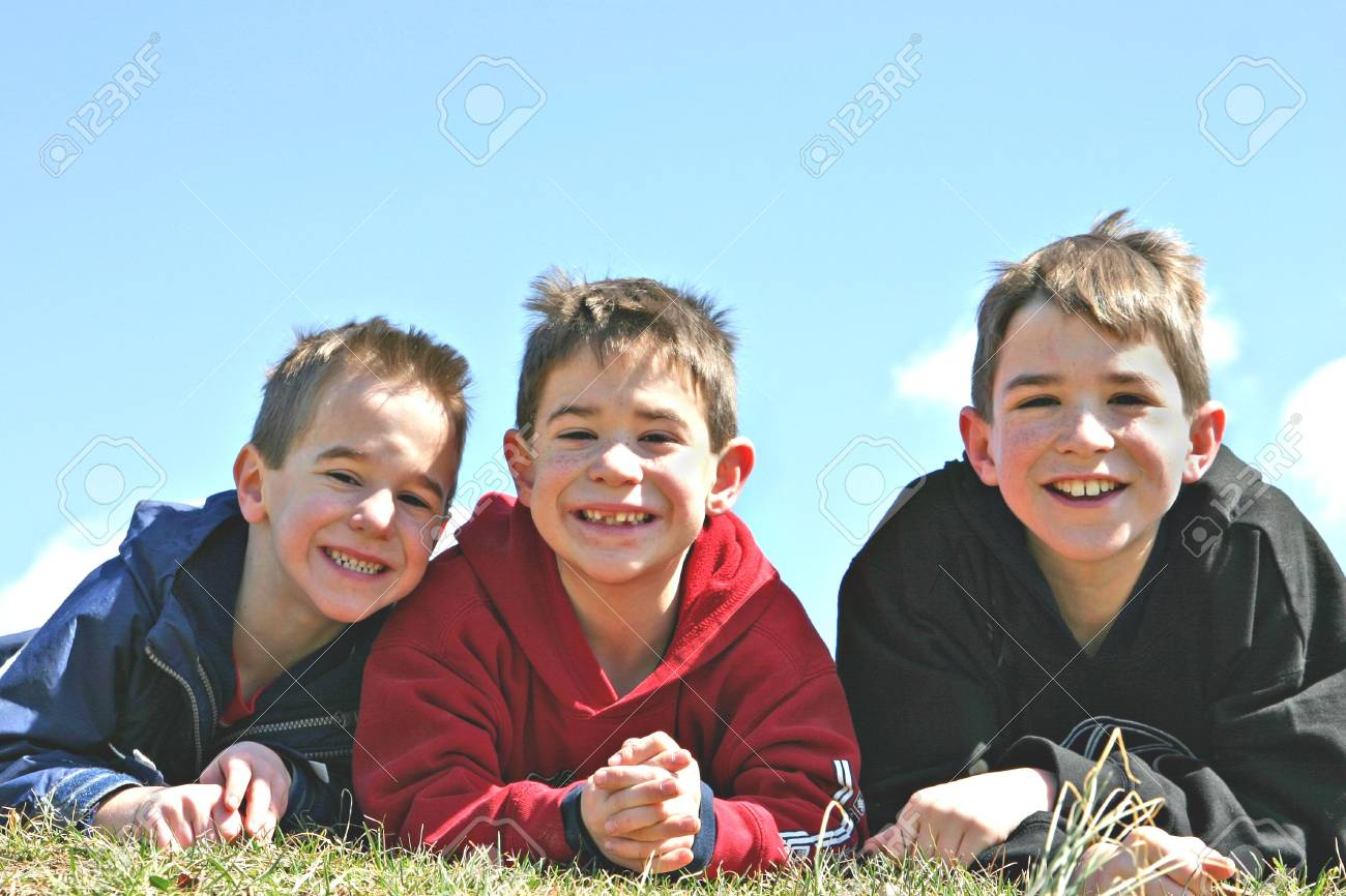 Brothers Smiling Stock Photo - 965930