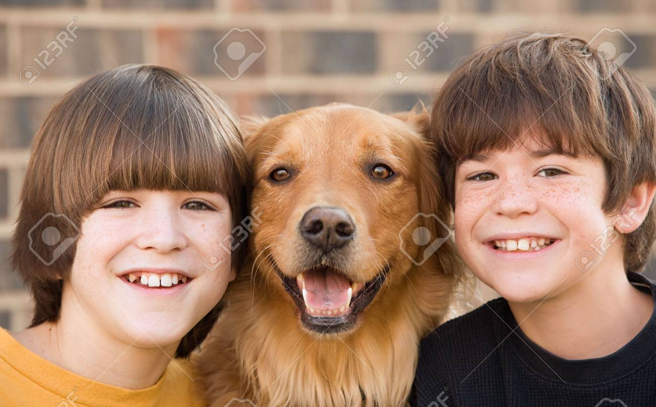 Boys and a Dog - 4610911