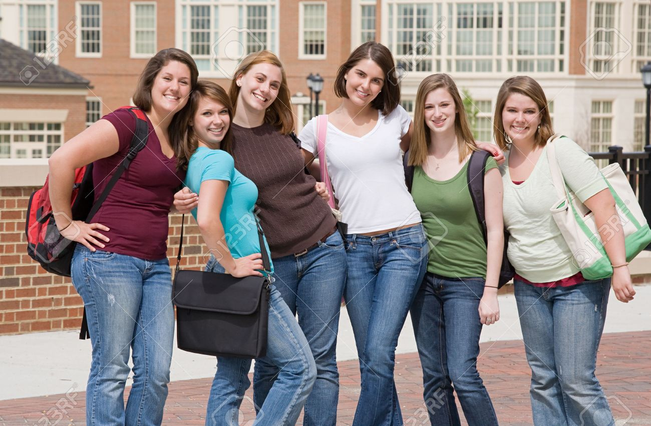 Group of College Girls - 4838656