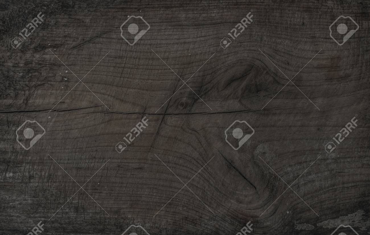 Old Rustic Discolored Wooden Board Dark Gray Wooden Texture