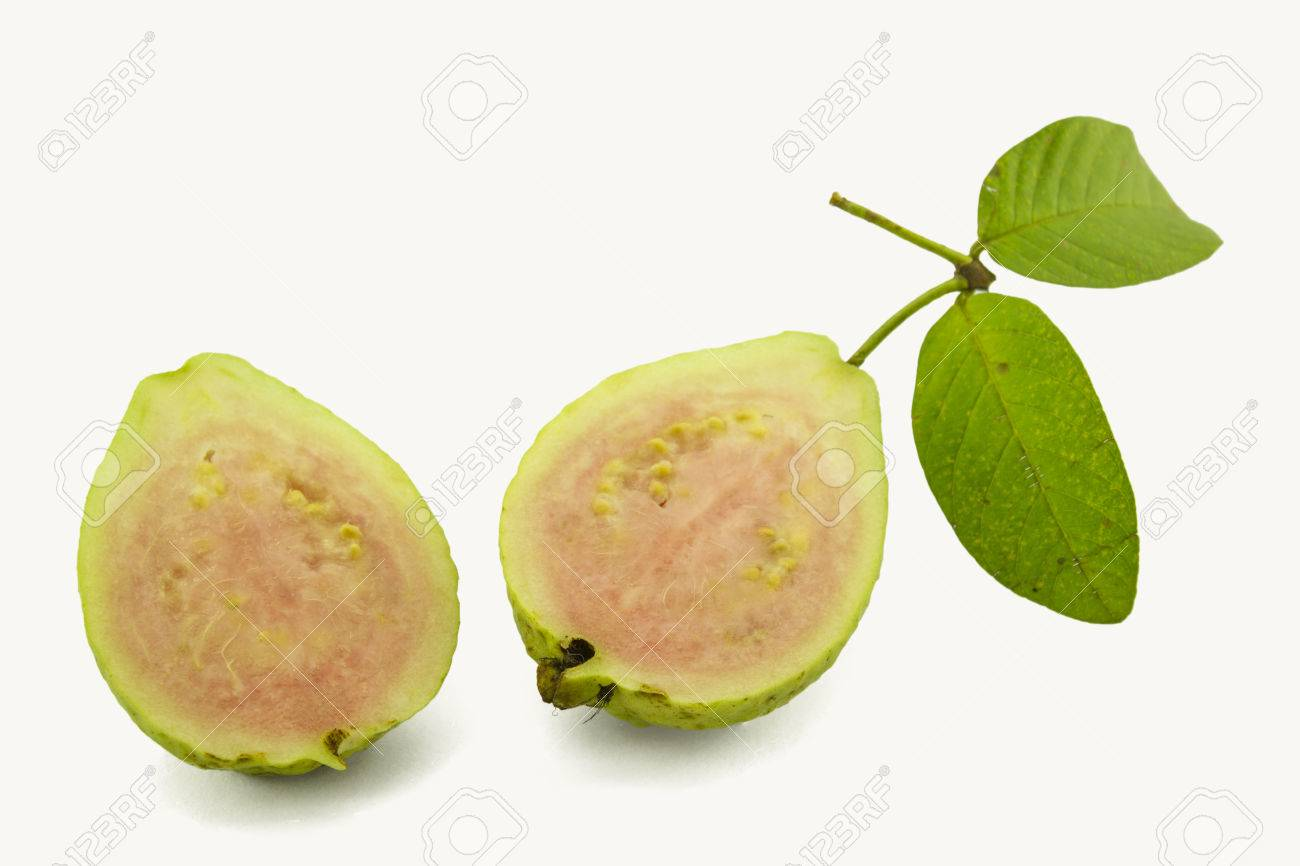 How To Eat A Rainbow Guava Ripe Fruit Yellow Sweet With Small Hard Seeds  Inside , Scientific Neme : Psidium Guajava