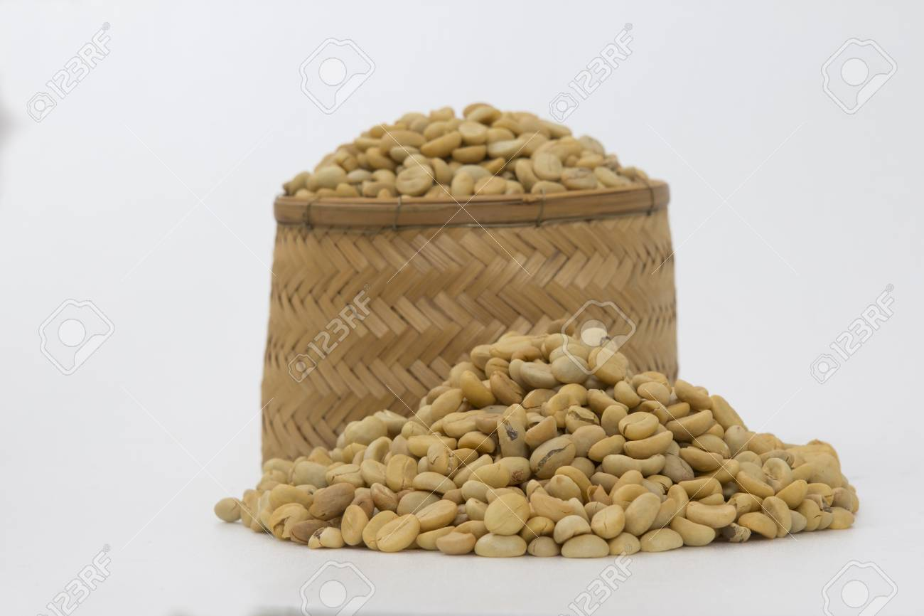 Coffee beans , cherries Stock Photo - 25486341