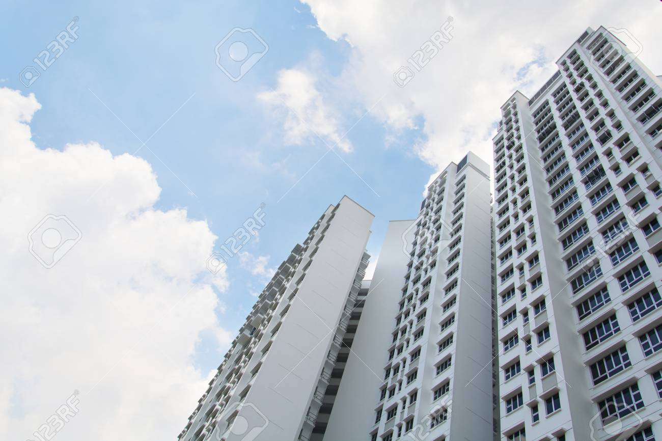 New Singapore government appartments Stock Photo - 20449549