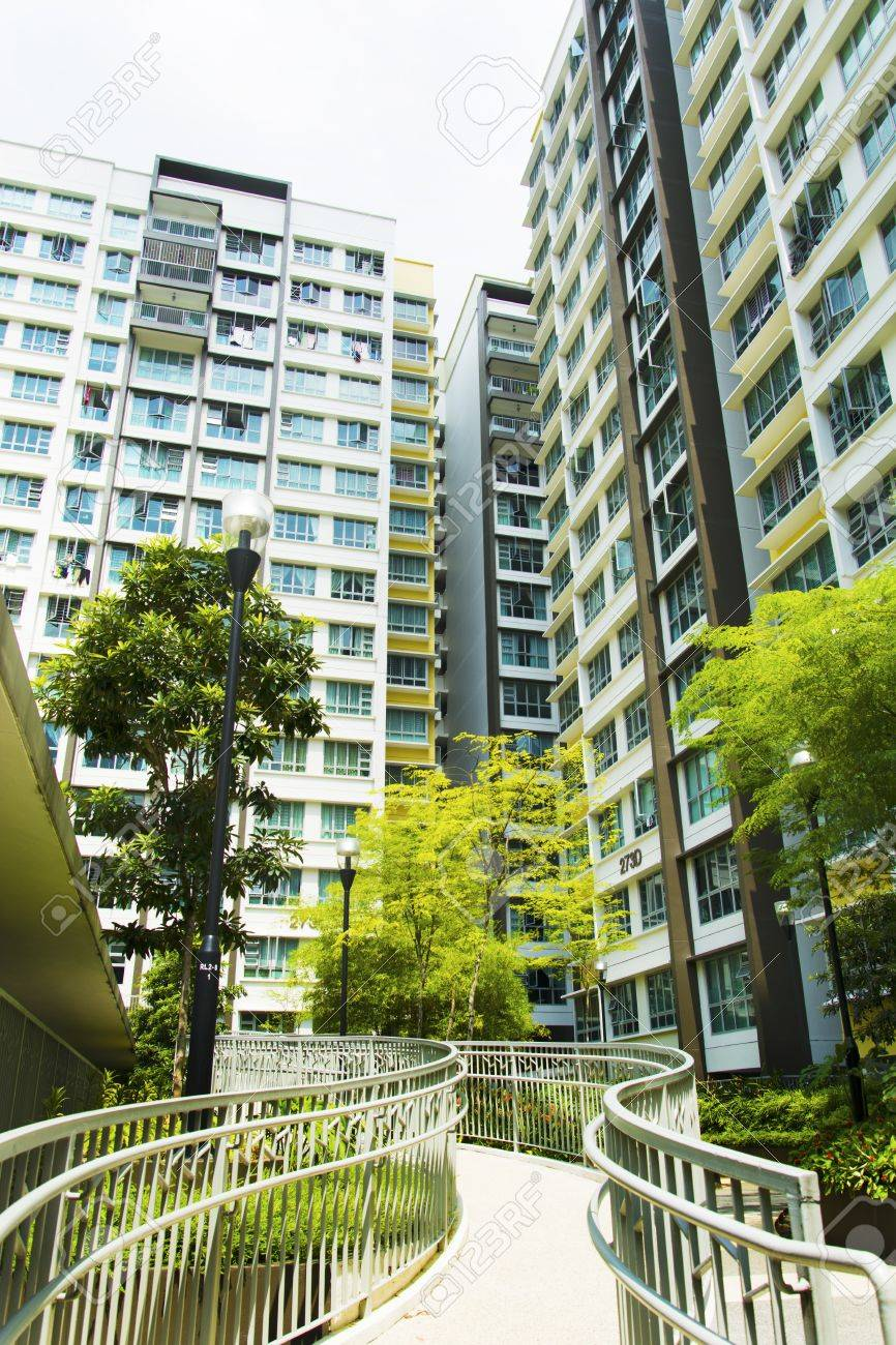 New Singapore government appartments Stock Photo - 20449555