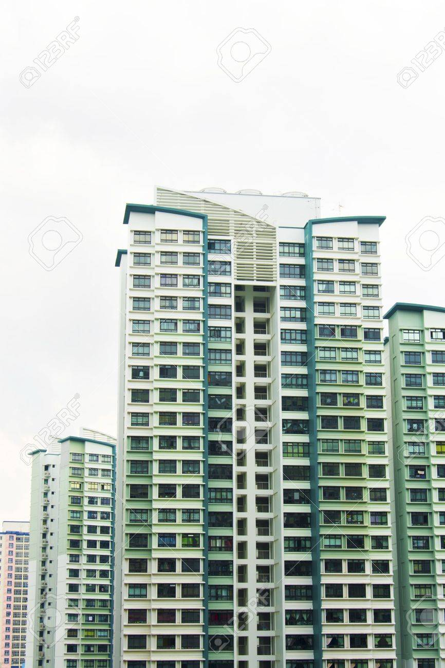 New Singapore government appartments Stock Photo - 20449544