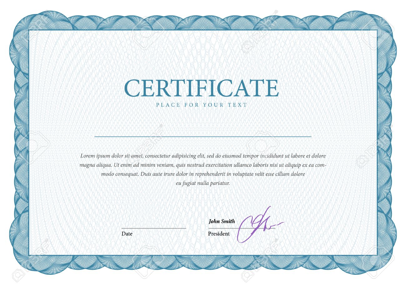 Certificate Award Background Gift Voucher Template Diplomas